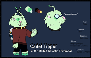 Lilo and Stitch OC: Cadet Tip by TimeInFlux