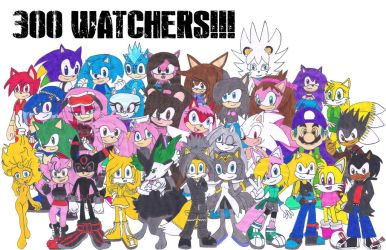 THANK YOU GUYS AND FOR 300 WATCHERS !!! by Silverxtreme56