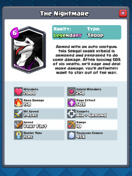 The Nightmare in Clash Royale by Wolfpro2014