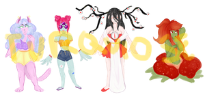 [PAYPAL - AUCTION] Mixed adopts (4/4 OPEN) by SapphicWizard
