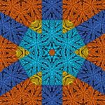 Abstract Painting - The Star Of The Crystal Rays 1 by Sankofastudies