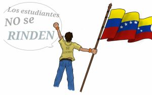 Situation in Venezuela - Students won't give up by Tsumikaze