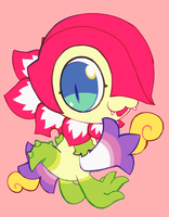 floramon by extyrannomon