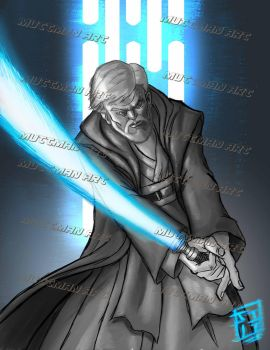 Obi Wan Strike back by muttman2006