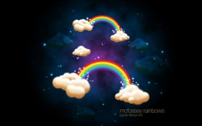 rainbows by McFossey