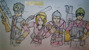 Titan Fortress 2 - Rivaille's Squad Edition by Fil101