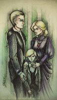 Malfoy family by MoonPrincess93