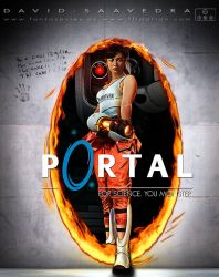Portal. For science, you monster. by flipation