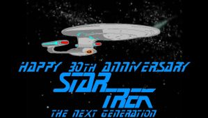 Star Trek The Next Generation 30th Anniversary by mrentertainment