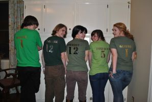 Hunger Games Tributes by BlackRoseOpal