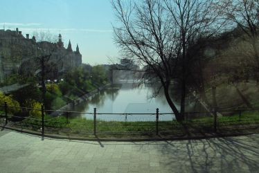 Moat in Wroclaw, PL by Sirith