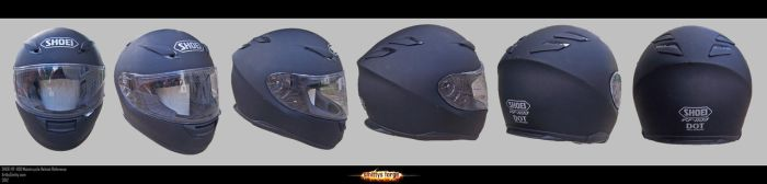 Reference - SHOEI RF-1100 Motorcycle Helmet by Art-by-Smitty