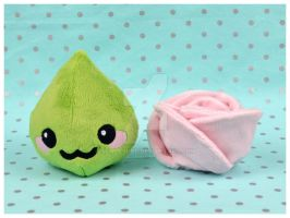 Ginger and Wasabi Plush by SewDesuNe