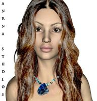 imperial Necklace Modeled-A'Nena Studios by ANenaStudios