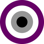 Asexual Pride Circle by Pride-Flags