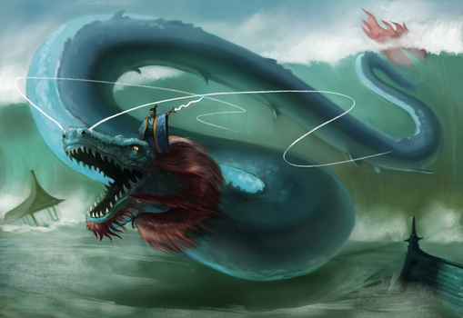 The Dragon King by Rainbows-Or-Knives