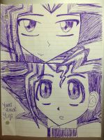 Yami and Yugi by sdcu