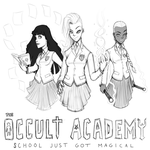The Occult Academy Concept Sketch by ebbewaxin