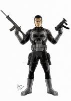 The Punisher by Fandias