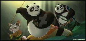 Kung Fu Panda 3 Is Coming by Archon89