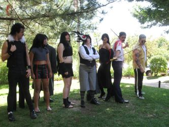 FMA NDK 2012 Photoshoot Bad guys by Leap207