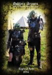 Goblin's couple Armors - Ragnarok LARP 2014 by Deakath