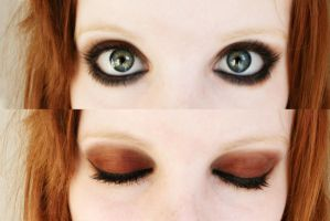 new makeup by Melikie