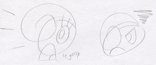 Gingerale Expression Scribbles by Mr86Returns