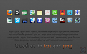 Quadrat icons by warulez