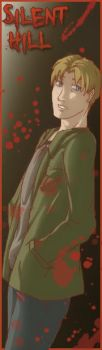 Silent Hill bookmarks - James by MidoriEyes
