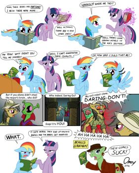 Daring Do Comics by Omny87