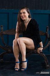Lovely Legs and Beautiful Smile - Tammy - LE by LegsEmporium