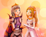 FF IV Cecil and Rosa's wedding - Vers.2018 by Azurelly