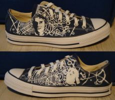 Doctor Who Shoes by Sabrea