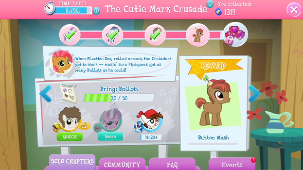 'The CM Crusade' Event Progress: 20 Ballots! by CMC--Scootaloo