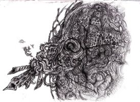 Lovecraft - Azathoth, Blind Idiot God by KingOvRats