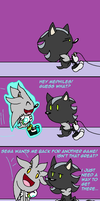 Mephiles and Silver Comic by RaeLogan