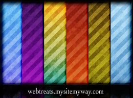ETC Grunge Stripes Pattern by WebTreatsETC