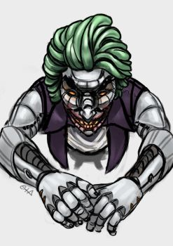 cyber-joker by gordo258