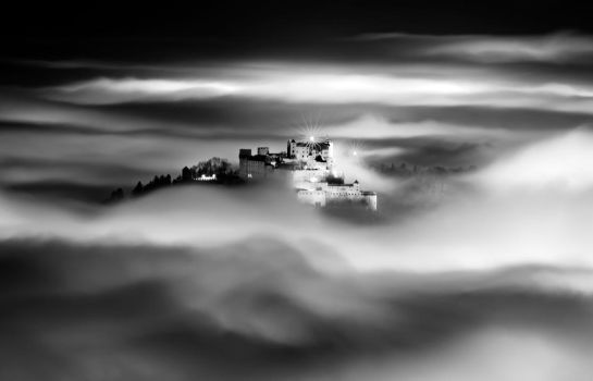 Fortress In The Sky by CaveCanem42