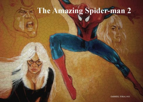 The Amazing Spider Man 2 movie poster concept fan by toratora5