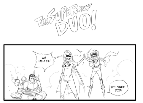The Super Duo- Preview by MrTenacious01