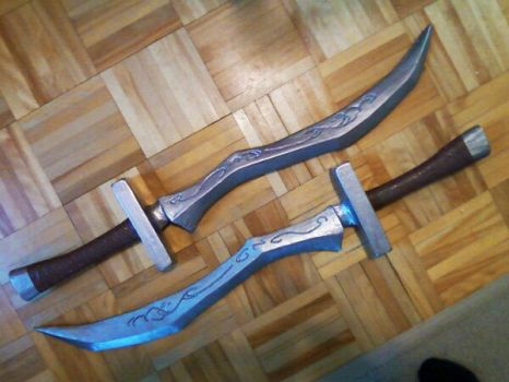 League of Legends - Katarina Blades (Back Blades) by Anti-Roxas-99