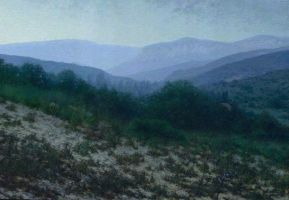 Rainy morning. Crimea by Daniil-Belov-artist