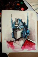Optimus Prime by Noumier