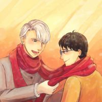 warmth  |  yuri on ice by tqmei