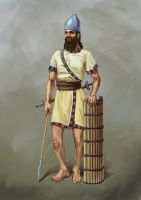 Assyrian spearman by SkifVetal