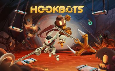 Hookbots cover art by ZeroCartin