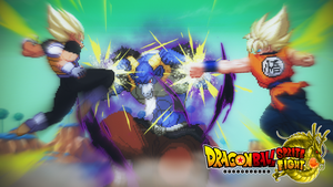 Goku And Vegeta Vs Moro! Extreme Butoden Battle