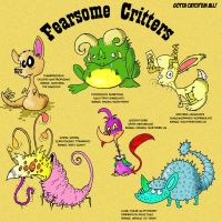 fearsome critters by Galago